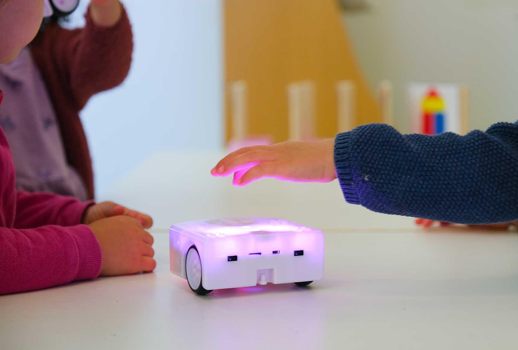 Robotique dans les crèches Educalis